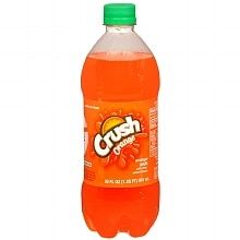Crush Soda 20 oz Bottle Orange