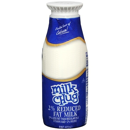 Milk Reduced Fat 2% Pint