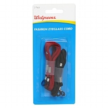 Walgreens Fashion Eyeglass Cords Assorted Colors