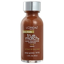 L'Oreal Paris True Match Super-Blendable Makeup, SPF 17 Deep Golden