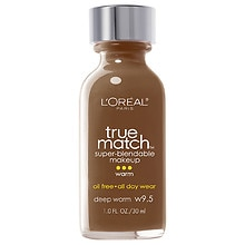 L'Oreal Paris True Match Super-Blendable Makeup, SPF 17 Deep Warm