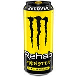 Monster Rehab Tea + Lemonade + Energy Supplement Drink