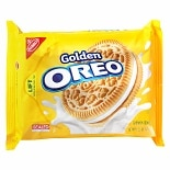 Nabisco Oreo Sandwich Cookies Golden