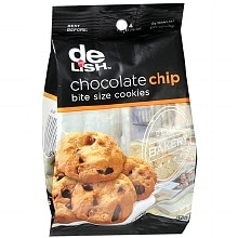 Good & Delish Bite Size Cookies Chocolate Chip