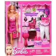 Toy Doll and Fashion Accessories, Assorted Designs