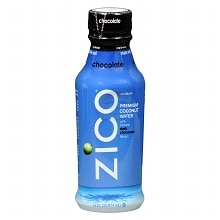 ZICO Premium Coconut Water 14 oz. Bottle Dark Chocolate Flavor