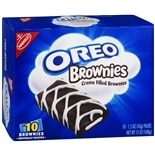 Nabisco Oreo Creme Filled Brownies 10 Pack