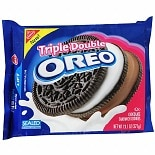 Nabisco Oreo Chocolate Sandwich Cookies Triple Double