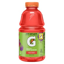 Perform Thirst Quencher Beverage 32 oz Bottle Fruit Punch