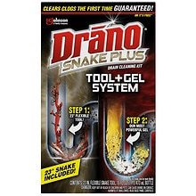 Drano Snake Plus Drain Cleaning Kit