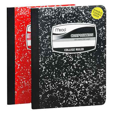 Mead Composition Notebook College Ruled