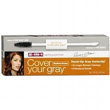 Cover Your Gray 2-In-1 Temporary Haircolor Applicator Brush Medium Brown