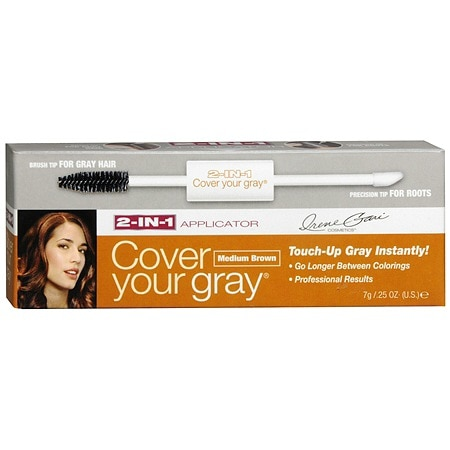 Cover Your Gray 2-In-1 Temporary Haircolor Applicator Brush