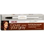 Cover Your Gray 2-In-1 Temporary Haircolor Applicator Brush Dark Brown