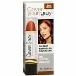 Cover Your Gray Instant Temporary Haircolor Touch-Up Stick Dark Brown