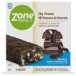 ZonePerfect Dark All-Natural Nutrition Bars 5 Pack Dark Chocolate