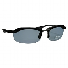 Solar Comfort Plastic Polarized Sunglasses Size Large Rec Black