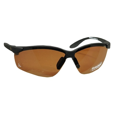 Solar Comfort Plastic Polarized Sunglasses Size Large