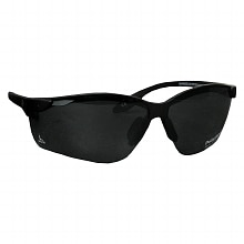 Solar Comfort Plastic Polarized Sunglasses Black