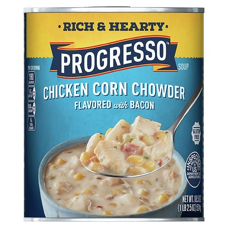 Progresso Rich & Hearty Soup Chicken Corn Chowder