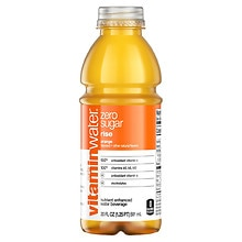 Glaceau Vitaminwater Zero Nutrient Enhanced Water Beverage Rise (Orange Flavored)