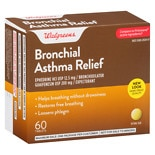 Walgreens Bronchial Asthma Relief Tablets Asthma