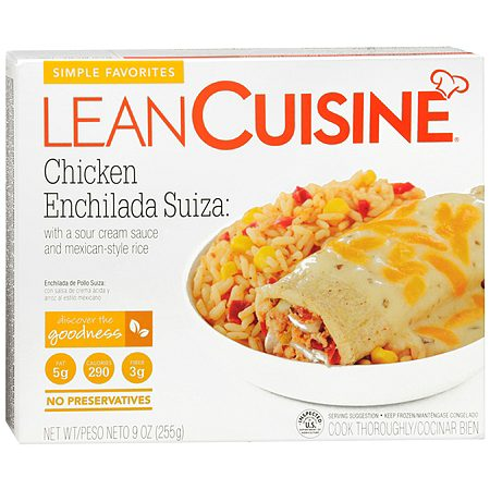 Lean Cuisine Simple Favorites Frozen Entree Chicken Enchilada Suiza