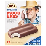 Blue Bell Ice Cream Bars 12 Pack