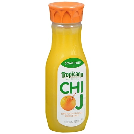 Tropicana Chi OJ Orange Juice Some Pulp