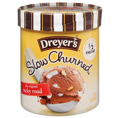 Dreyer's Slow Churned Light Ice Cream Rocky Road