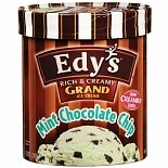 Edy's Grand Ice Cream Mint Chocolate Chip