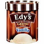 Edy's Rich & Creamy Grand Ice Cream Vanilla