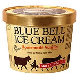 Blue Bell Ice Cream Homemade Vanilla