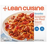 Lean Cuisine Simple Favorites Frozen Entree Spaghetti with Meat Sauce