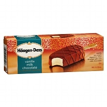 Haagen-Dazs Ice Cream Bar Vanilla Milk Chocolate