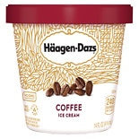 Haagen-Dazs All Natural Ice Cream Coffee