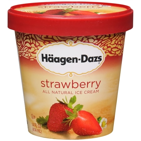 Haagen-Dazs Ice Cream Strawberry