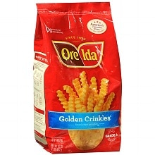 Ore-Ida Golden Crinkles Frozen French Fried Potatoes