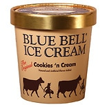 Blue Bell Ice Cream Orange Swirl