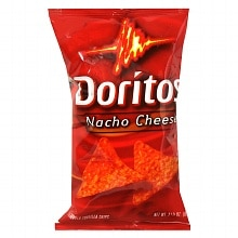 Doritos Flavored Tortilla Chips Nacho Cheese