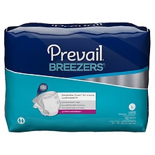 Prevail Breezers Adult Briefs, Case