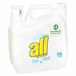 2X Ultra Liquid Laundry Detergent Free & Clear