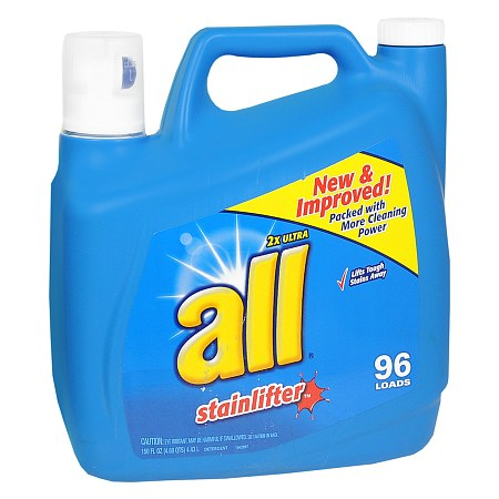 All 2X Ultra Stainlifter Liquid Laundry Detergent