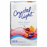 Crystal Light Drink Mix on the Go Packets 10 Pack Fruit Punch
