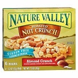 Nature Valley Roasted Nut Crunch Granola Bars 6 Pack