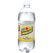 Schweppes Tonic Water 1 Liter Bottle