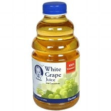 100% Juice, White Grape