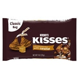 Hershey's Kisses Candy Milk Chocolate Filled with Caramel