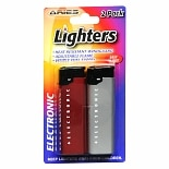 Aries Electronic Lighters Assorted