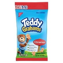 Nabisco Teddy Grahams Graham Snacks Cinnamon